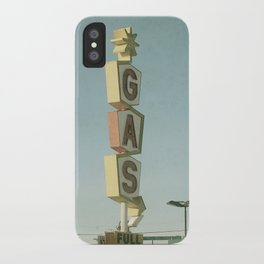 Vintage Gas iPhone Case