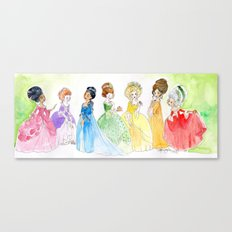 Put a rococo on it Canvas Print