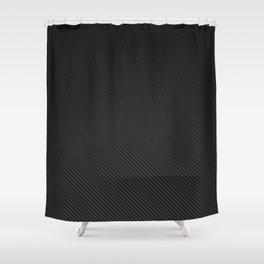 Realistic Carbon fibre structure Shower Curtain