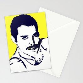 Freddy Mercury - Queen pop art Stationery Cards