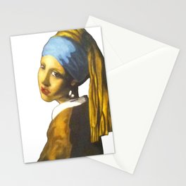 Girl with the Pearl Earring Stationery Cards