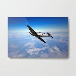 Spitfire Recon Metal Print