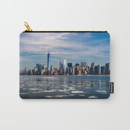 New York City Frozen Cityscape Carry-All Pouch