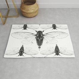 Divine Cicadas Rug