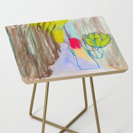 Artichoking Side Table