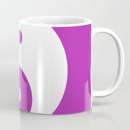 Yin & Yang (White & Purple) Coffee Mug
