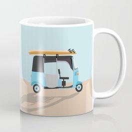 Surf Tuk Tuk in Sri Lanka Coffee Mug