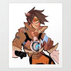 tracer Art Print