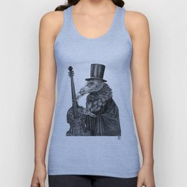 Vulture Double Bass by Pia Tham Unisex Tank Top