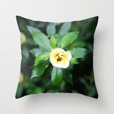 Open up Throw Pillow