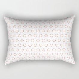 EMPTY DOT ((cherry red)) Rectangular Pillow