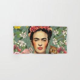 Frida Kahlo X Hand & Bath Towel