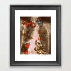 Experiment 3: Mutation Framed Art Print