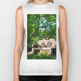 Haus with Tree Biker Tank