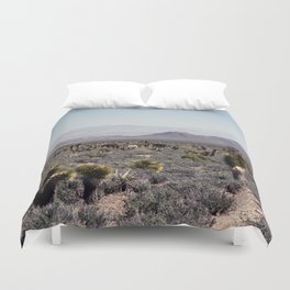 Cold Creek Horses Duvet Cover