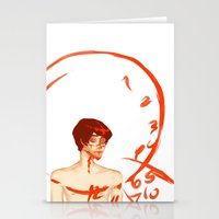 will graham Stationery Cards featuring Will Graham by Meloniade
