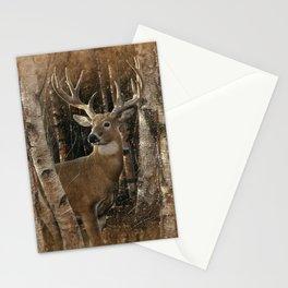 Deer - Birchwood Buck Stationery Cards