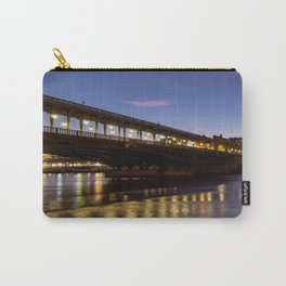 Bir-Hakeim bridge at dawn in winter - Paris Carry-All Pouch