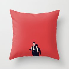 Over my dead body Throw Pillow