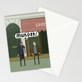 Sherlock 221B Stationery Cards