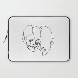 When two become one Laptop Sleeve
