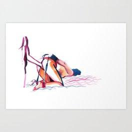 porn numb. 25 Art Print