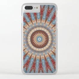Some Other Mandala 424 Clear iPhone Case