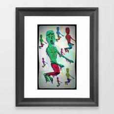 ¨Zombillurca¨ Framed Art Print