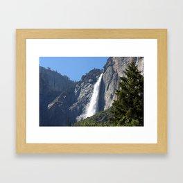 Yosemite Upper Falls Framed Art Print