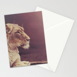 Lioness Stationery Cards