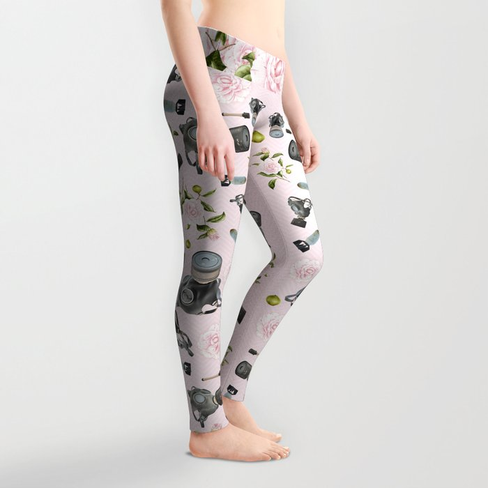 Don't stop to smell the roses Leggings