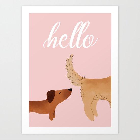 Hello, I am Dog by keatonnugent