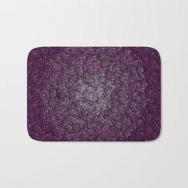 purple hearts Bath Mat