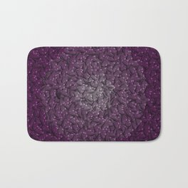 purple hearts Bath Mat