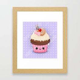 Cutie Cake Alternate Framed Art Print