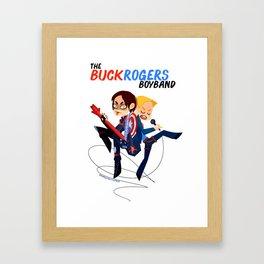 The BuckRogers Boyband Framed Art Print