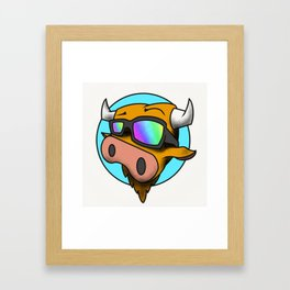 MooMooDecks Framed Art Print