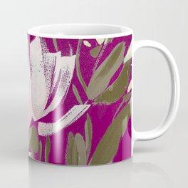 tulips on plum Coffee Mug