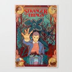 Strange Things lately Canvas Print