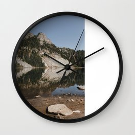 Eunice Lake Wall Clock