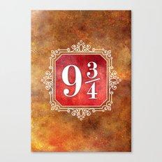9 3/4 Canvas Print