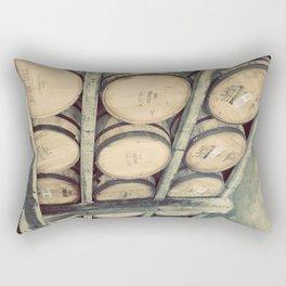 Kentucky Bourbon Barrels Color Photo Rectangular Pillow