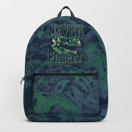 Never Forget T-Rex Backpack