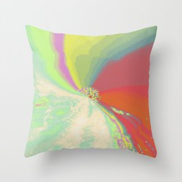 Psychedelica Chroma V Throw Pillow