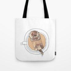 The Tea Otter Tote Bag