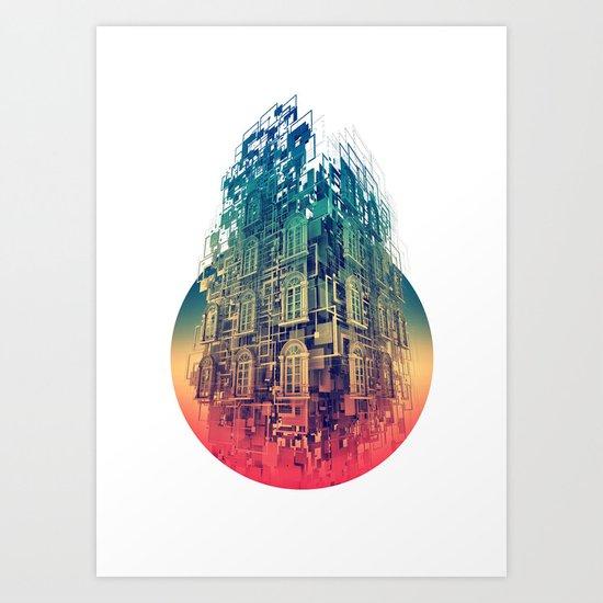 Conception Art Print