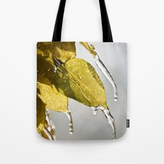 Dripping Ice Tote Bag