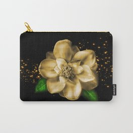 Golden Magnolia Carry-All Pouch