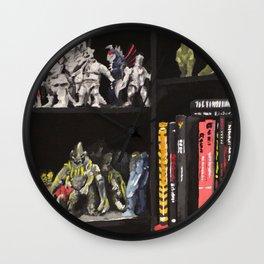 The Shelves Wall Clock