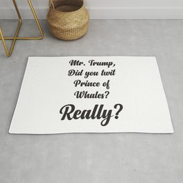 Prince of whales Rug